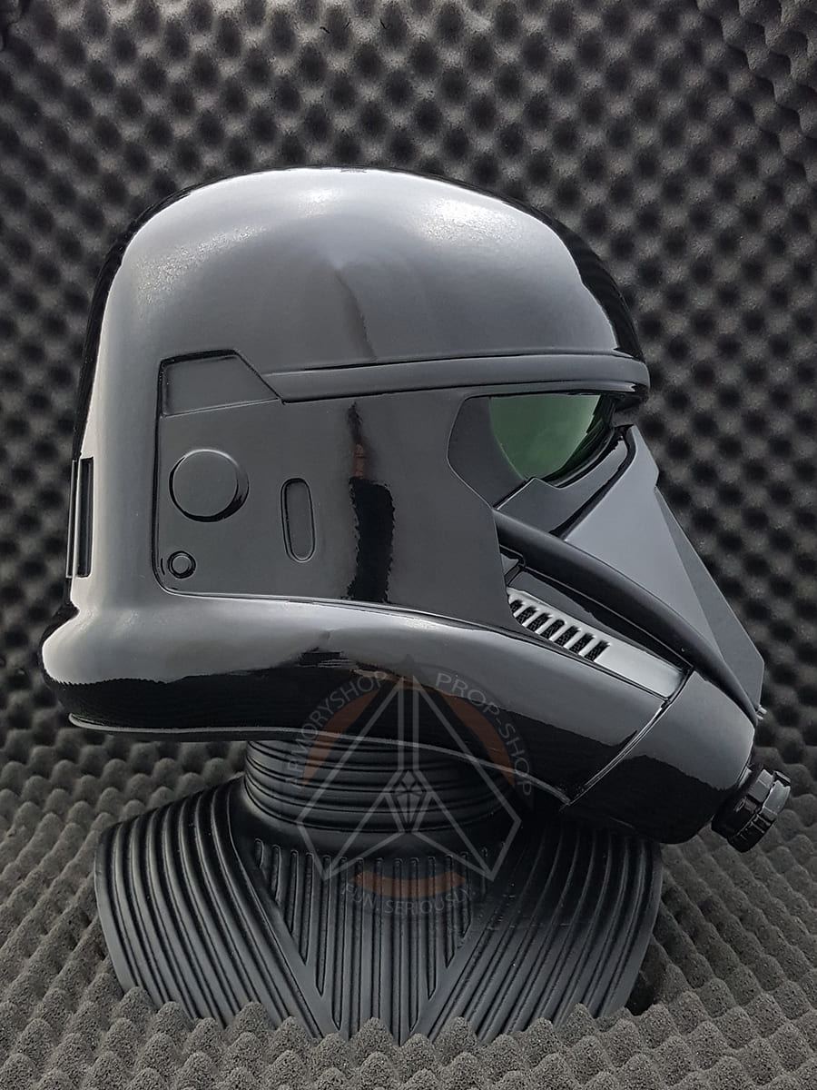 RAW 3D printed Death Trooper helmet