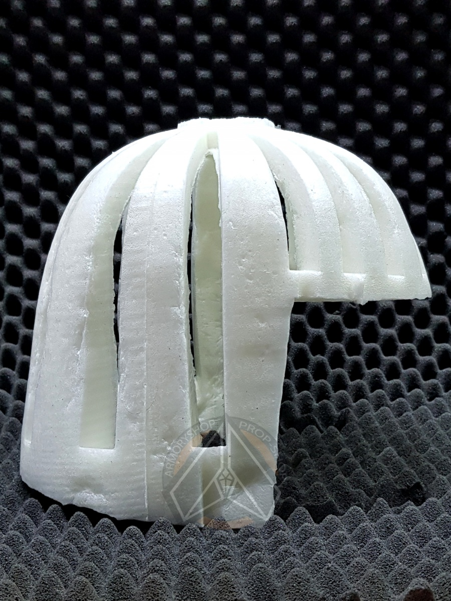 ASP Foam Inner Helmet Lining (FOAM, FINISHED)