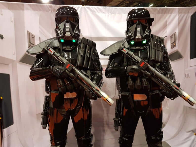Death Trooper FINISHED Armor 3D-Printed Custom Fit Star Wars Stories Rogue One