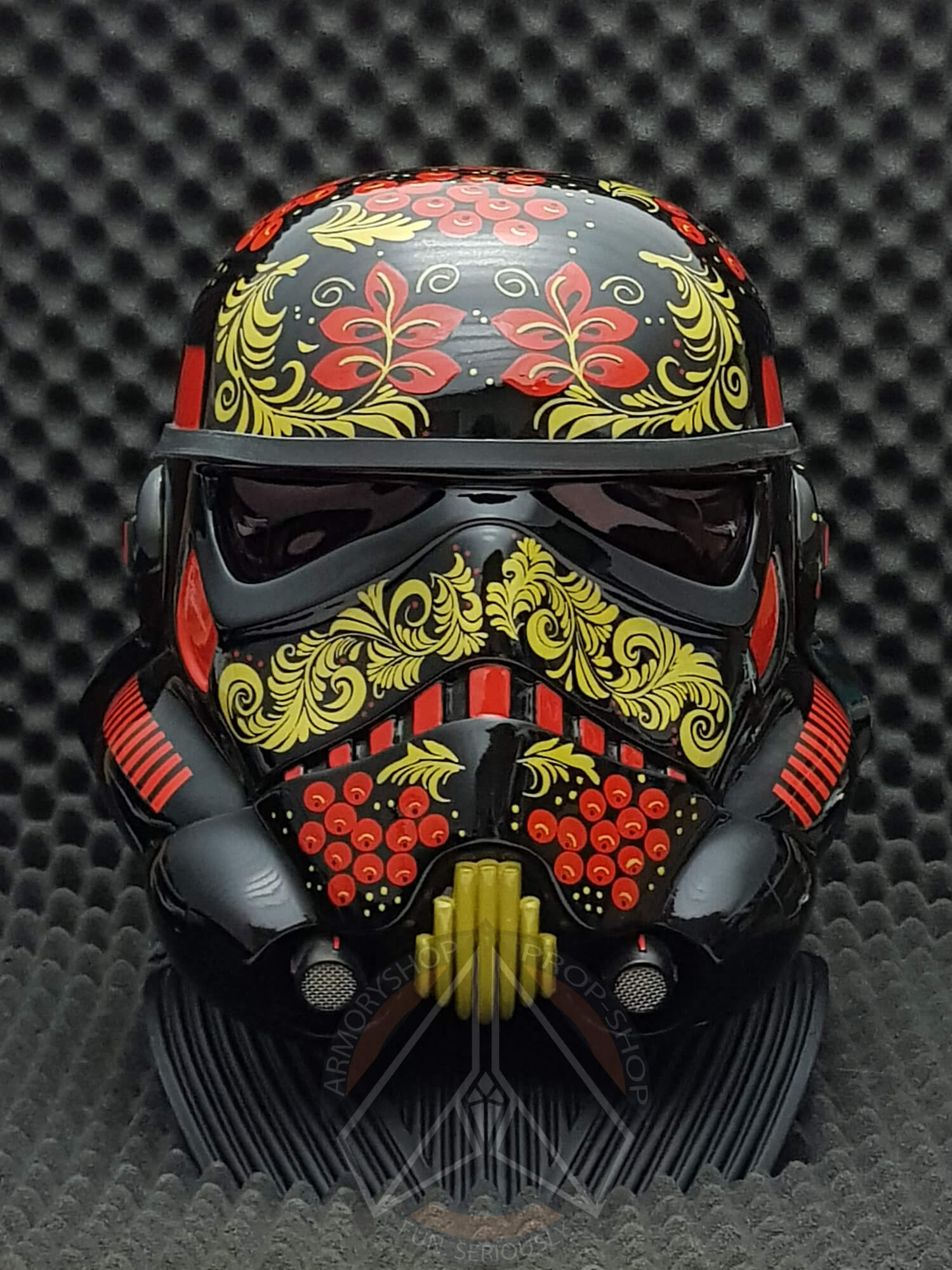 """KHOKHLOMA [Хохлома]"" - Stormtrooper Helmet (Art Project)"