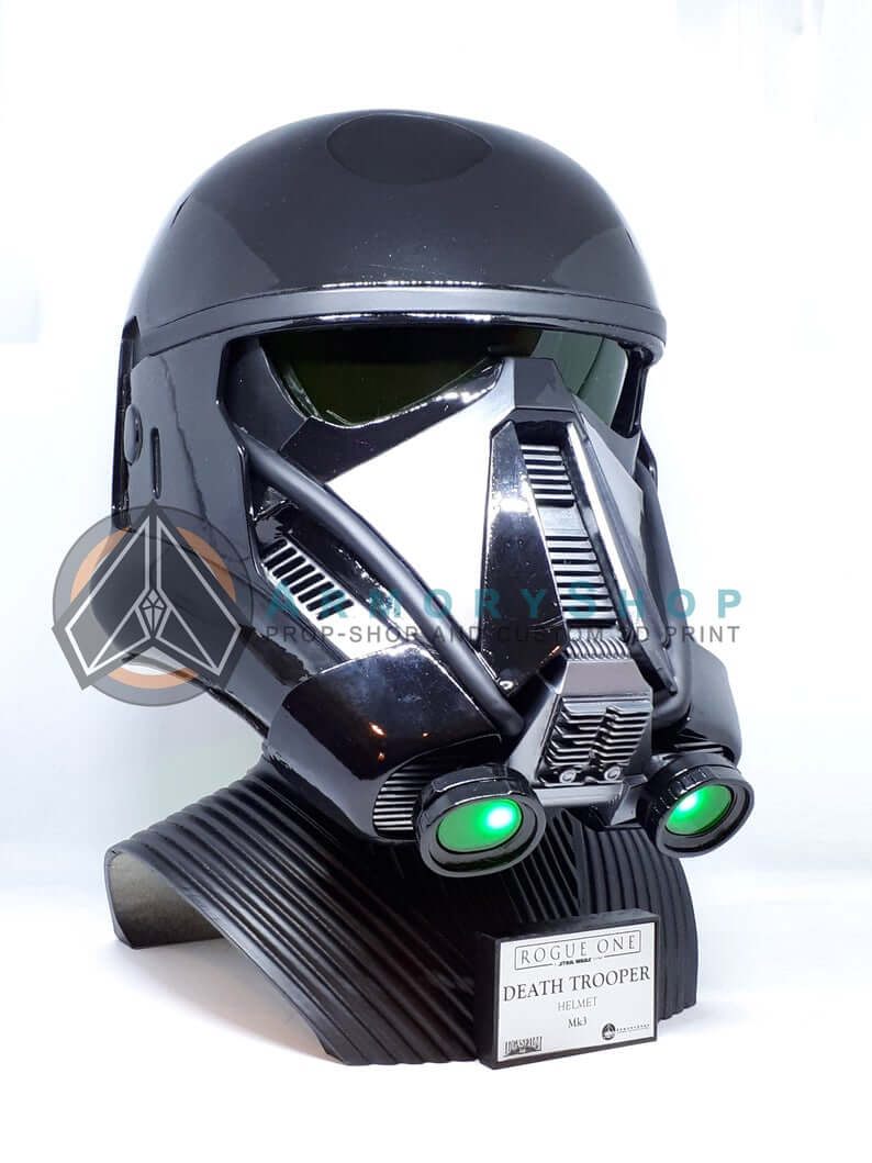 Death Trooper Helmet Stand parts