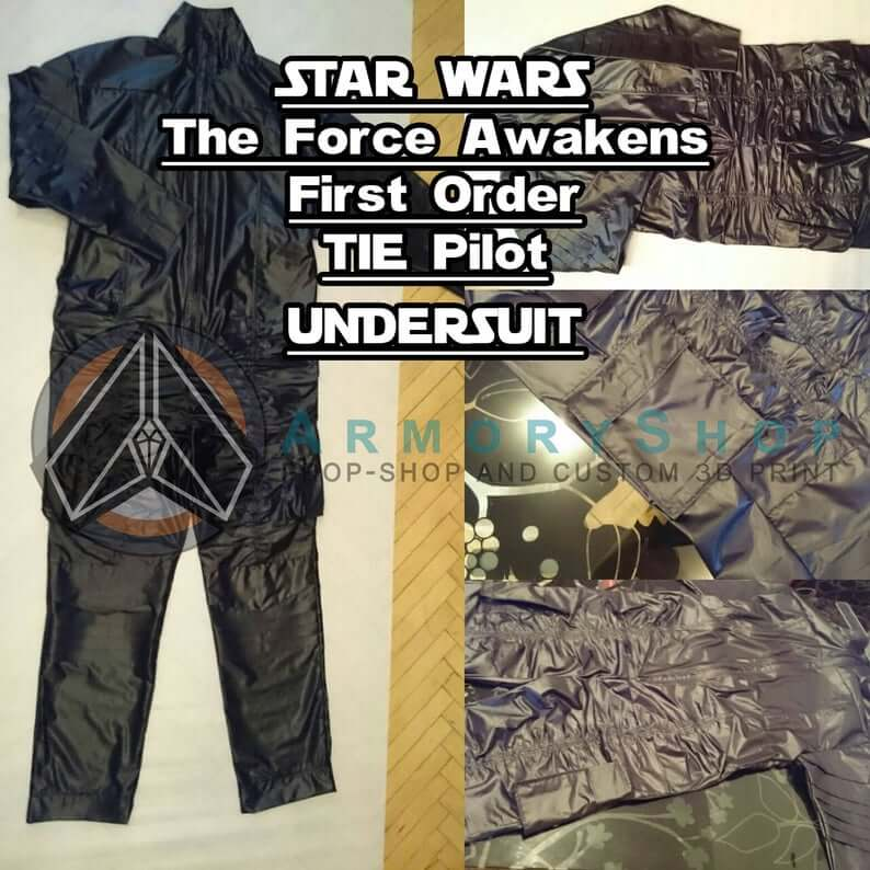 FO TIE Pilot undersuit The Force Awakens