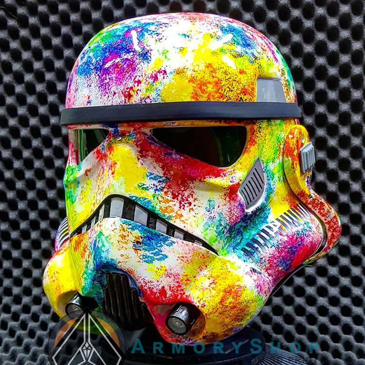 SPLASH - Stormtrooper Helmet (Art Project)