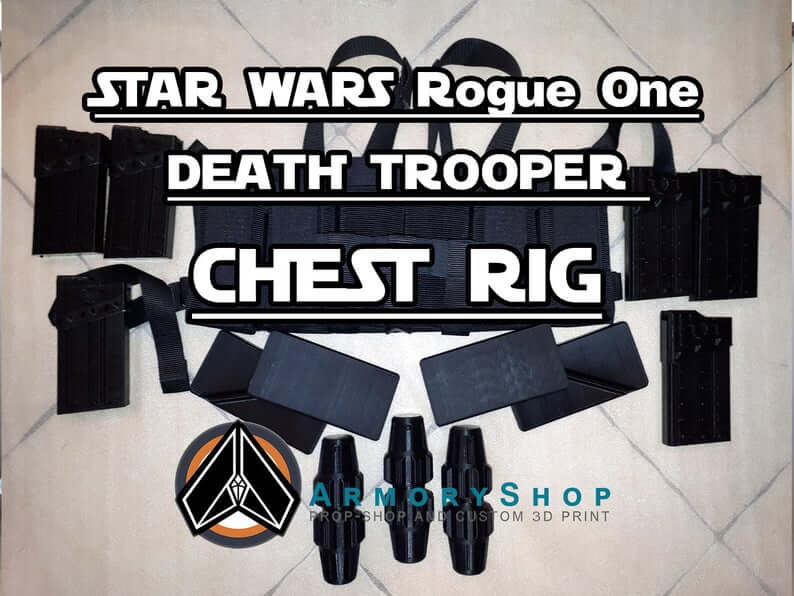 Death Trooper chest rig with C-25 Grenades