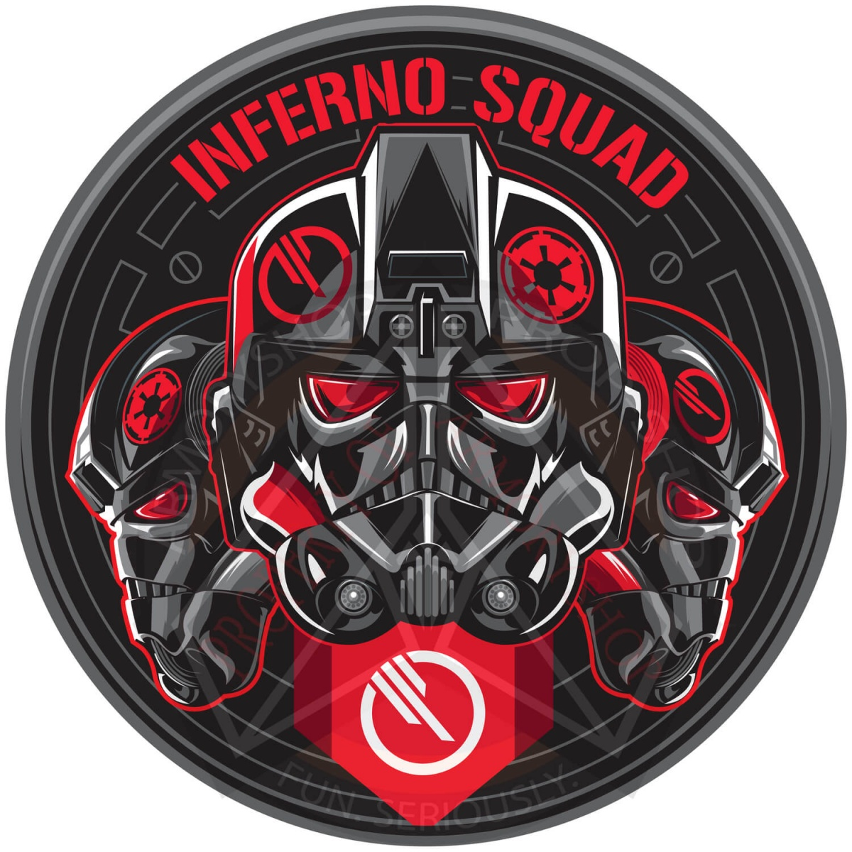 Inferno Squad Patch