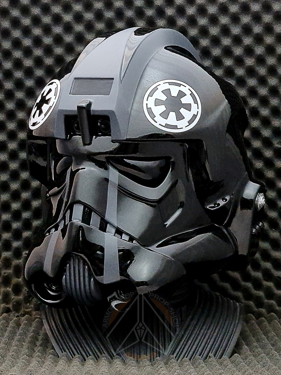 Rogue One / SOLO - Imperial TIE Fighter Pilot Helmet Variant (Clean, Finished)