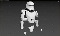 First Order SnowTrooper Assault Armor (TFA / TLJ, Finished)