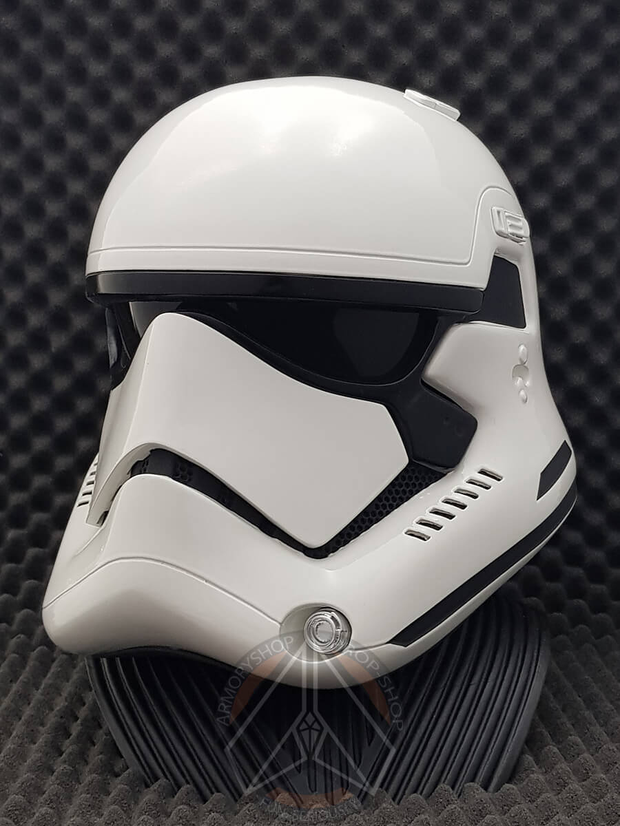 First Order Stormtrooper Helmet (TLJ/TROS, Finished)