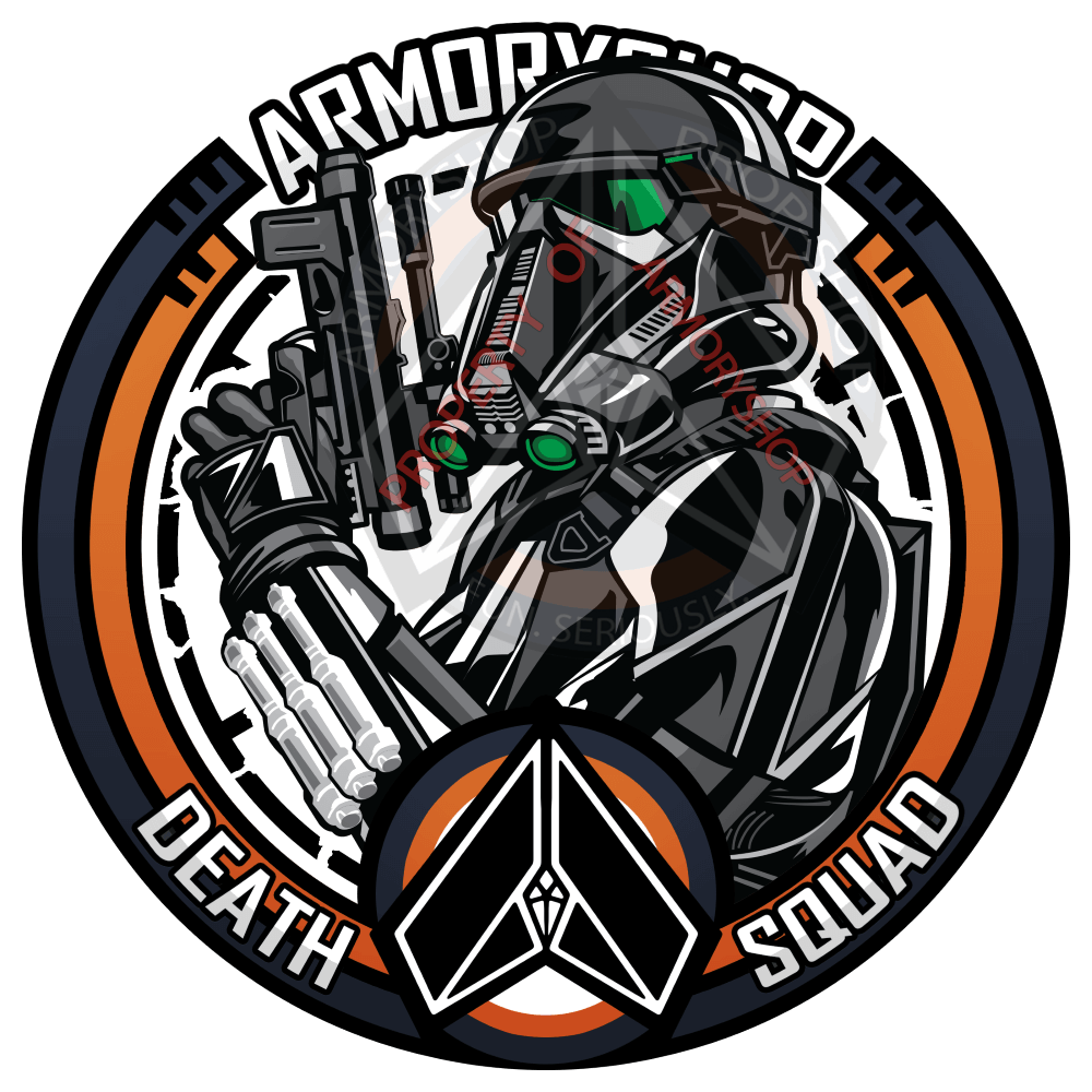 ArmoryShop Death Squad Sticker
