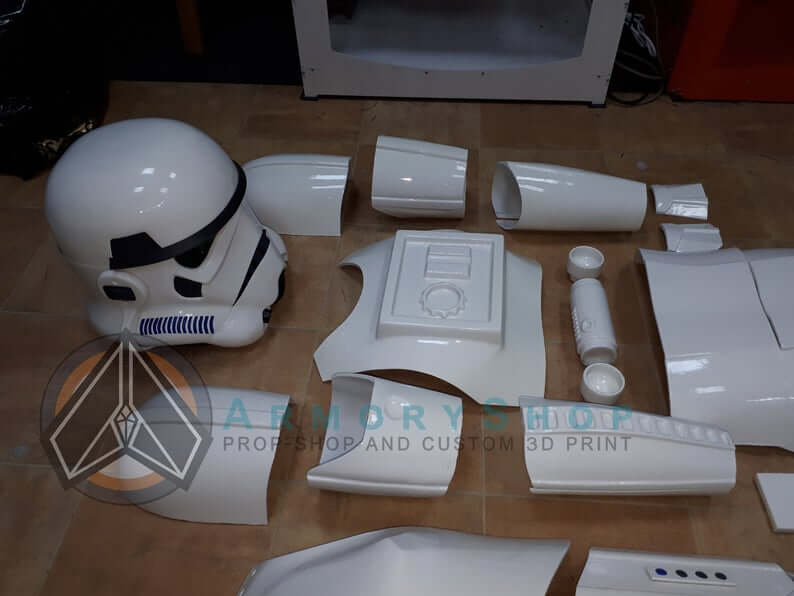 all details of ANH Stormtrooper replica armor