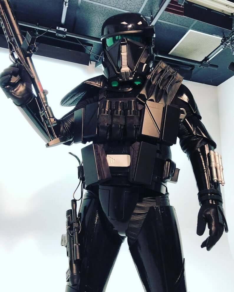 Death Trooper in armor