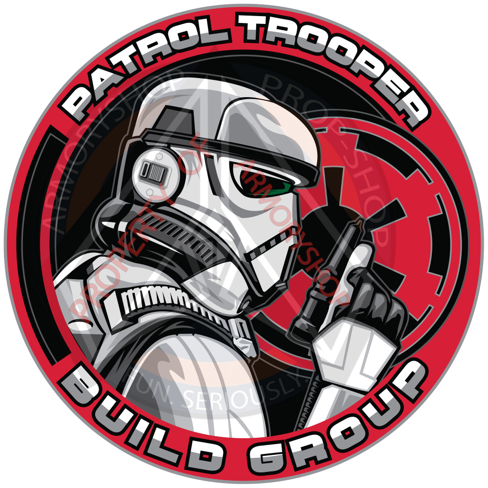Patrol Trooper Build Group Patch