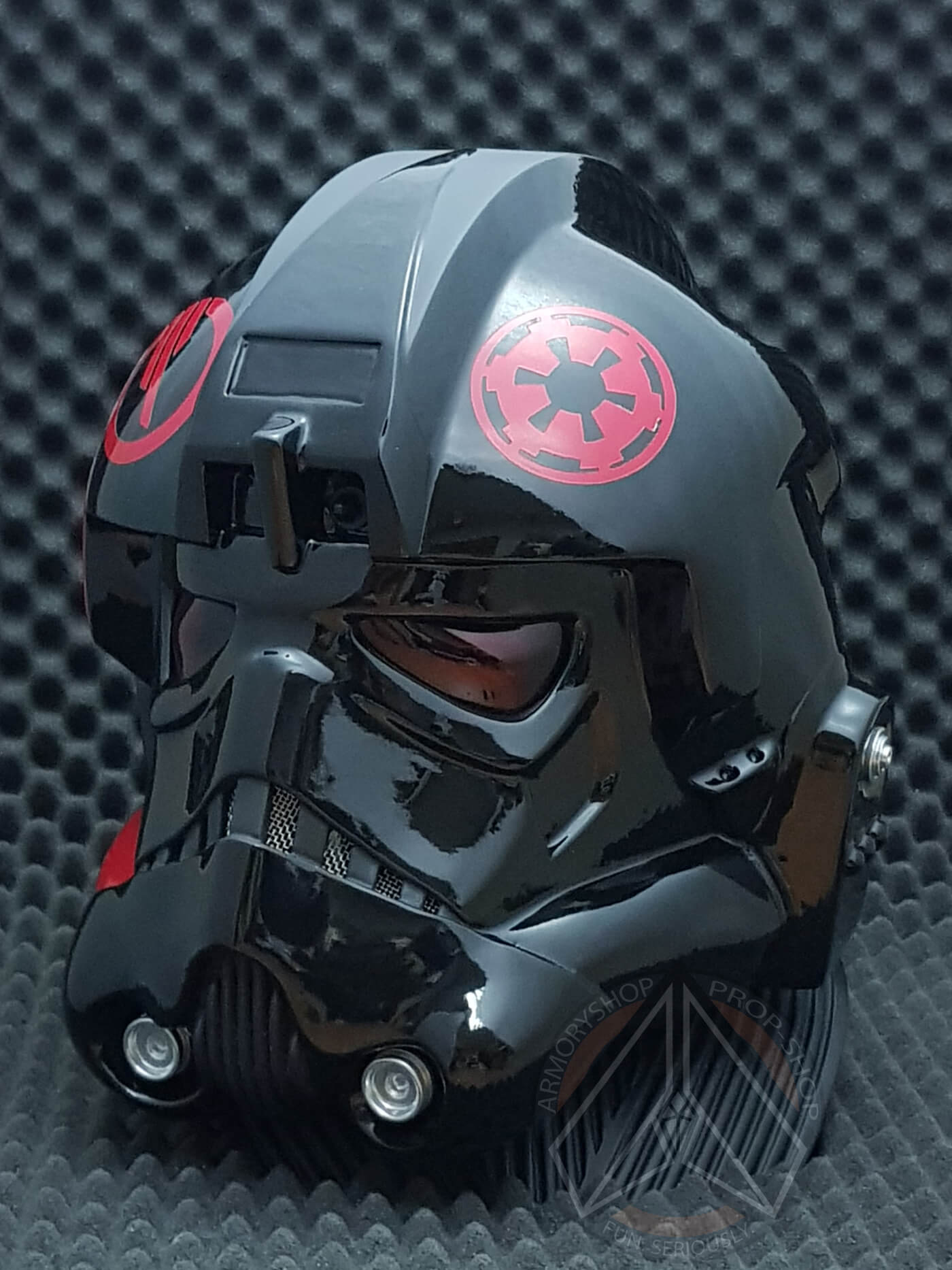 Inferno Imperial TIE Pilot Helmet (SW:BF2, Clean, Finished)