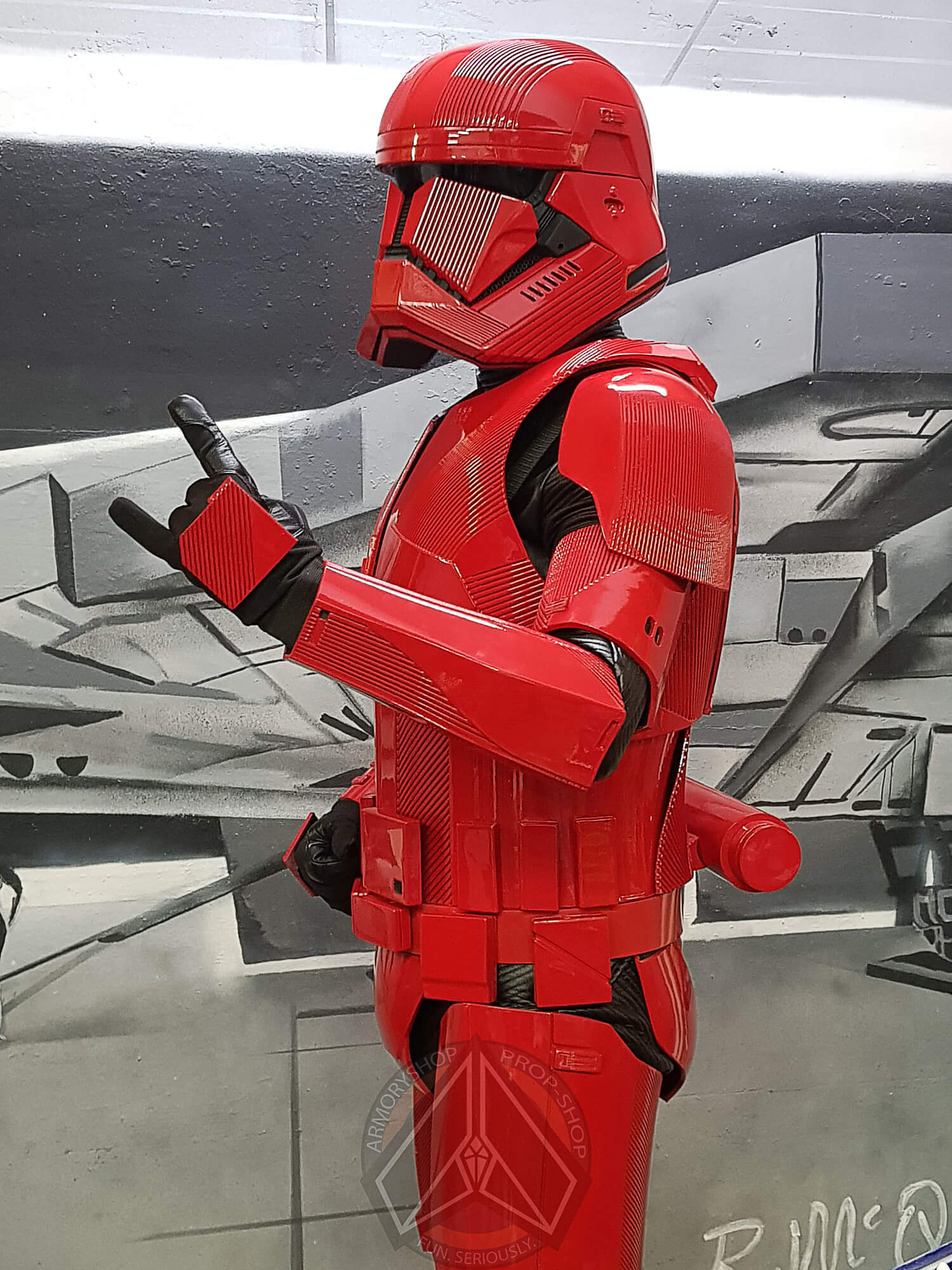 Sith Trooper Armor (TROS, Finished)